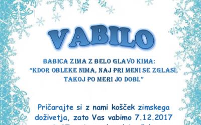 Proslava: V deželi babice Zime