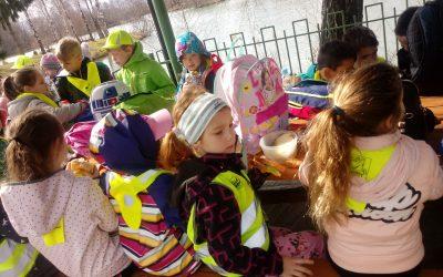 Športni dan učencev iz Pragerskega