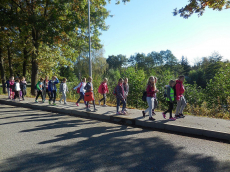 Aktivnosti četrtošolcev  - pohod