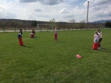 Športni dan učencev prvih treh razredov