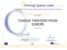 Znak kakovosti - eTwinning
