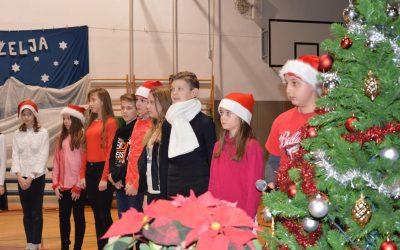 Božično novoletna prireditev na podružnični šoli Zgornja Polskava