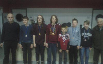 Erik Červek prvak Podravja v šahu, za fante do 15 let!