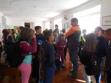 Aktivnosti četrtošolcev. - ogled gradu