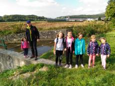 Planinci igrivo ob reki Polskavi